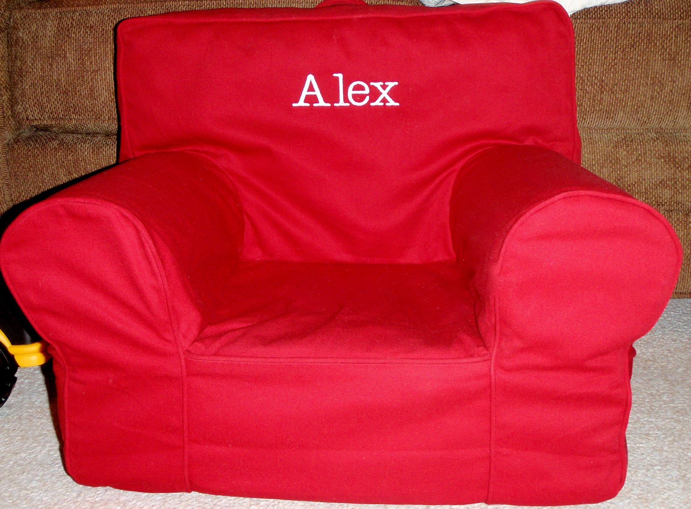 And If You Missed It, Here Is A Link To A Post On How To Make Your Own Foam  Insert For An Anywhere Chair.