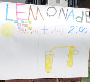 » How to Teach Kids About Money With a Lemonade Stand Lemonade Sign Kids