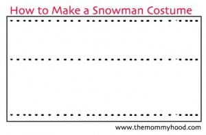 How_to_Make_A_Snowman_Costume