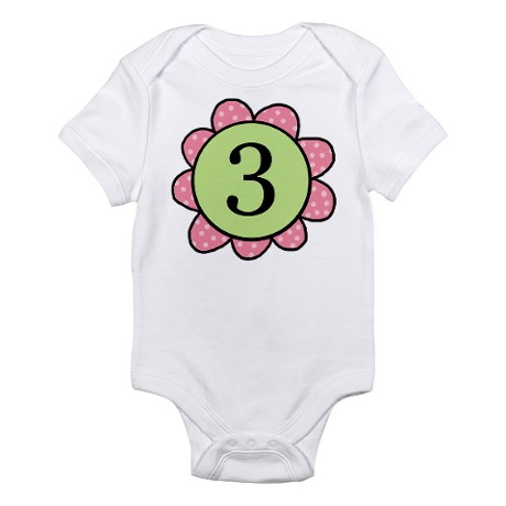 six_pinkgreen_flower_infant_bodysuit